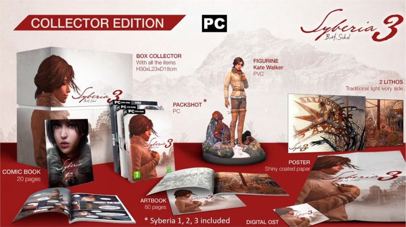 Syberia 3 édition collector  Siberi10