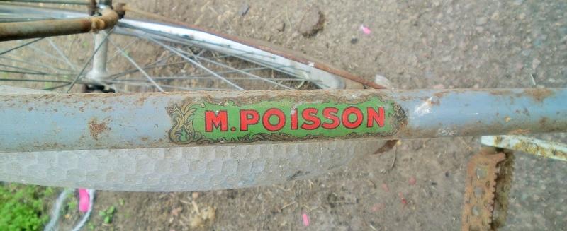 """vélo homme """" M.POISSON-Cycles - Vierzon """" 1937-39 Cimg3938"""
