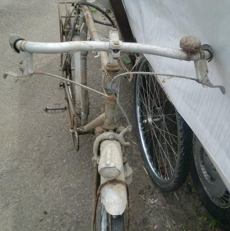 """vélo homme """" M.POISSON-Cycles - Vierzon """" 1937-39 Cimg3942"""