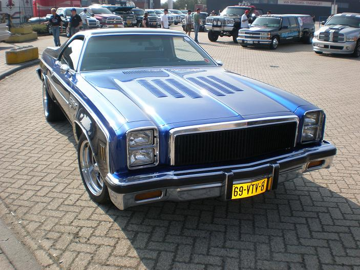 Does anybody know in person this 77 454 el camino from Netherlands? Jan_wi10