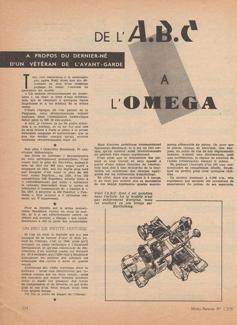 Moteurs étranges 1ere partie:  le moteur OMEGA Moteu101