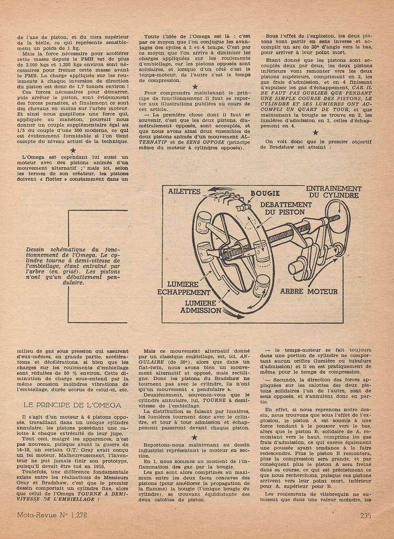 Moteurs étranges 1ere partie:  le moteur OMEGA Moteu102