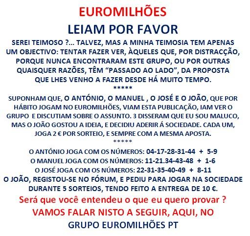 SOCIEDADE-EUROMILHÕES-2º SÉRIE DE 10 SORTEIOS-VAI ARRANCAR Euromi10