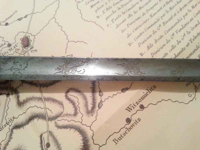 épée d'officier de la Grande armée 20160614