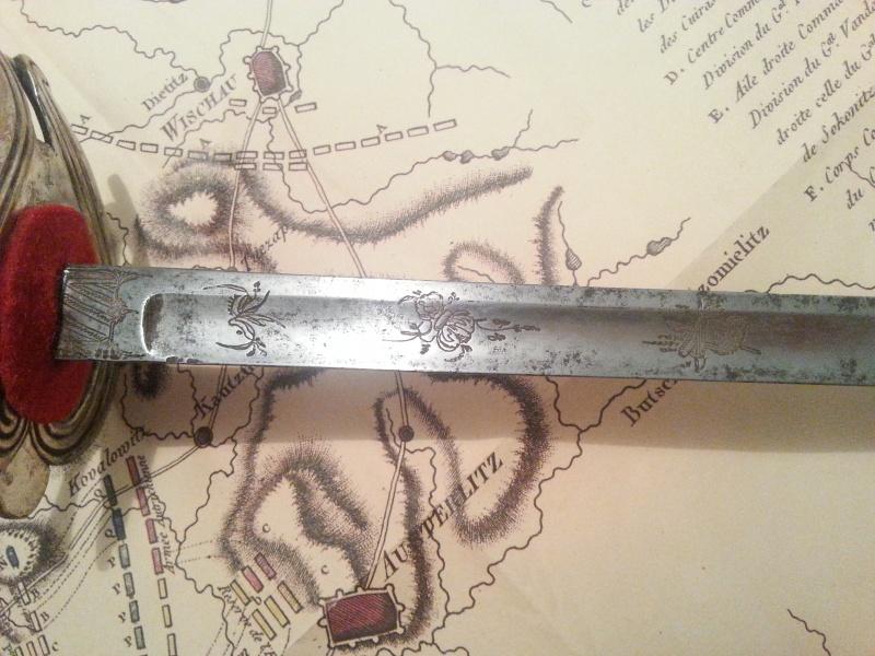 épée d'officier de la Grande armée 20160615