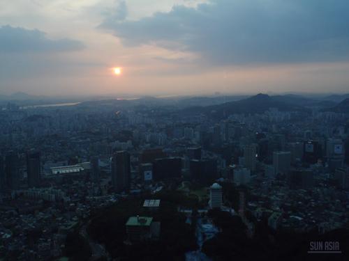 N Seoul Tower / Namsan Tower (Séoul) 1110