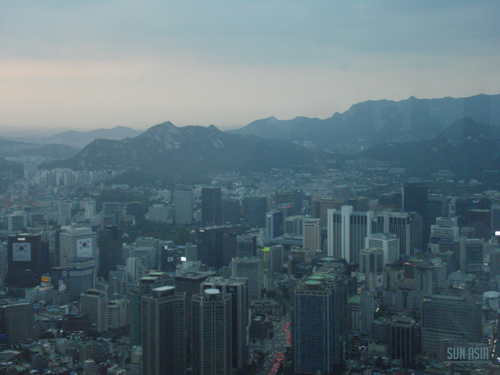 N Seoul Tower / Namsan Tower (Séoul) 1210