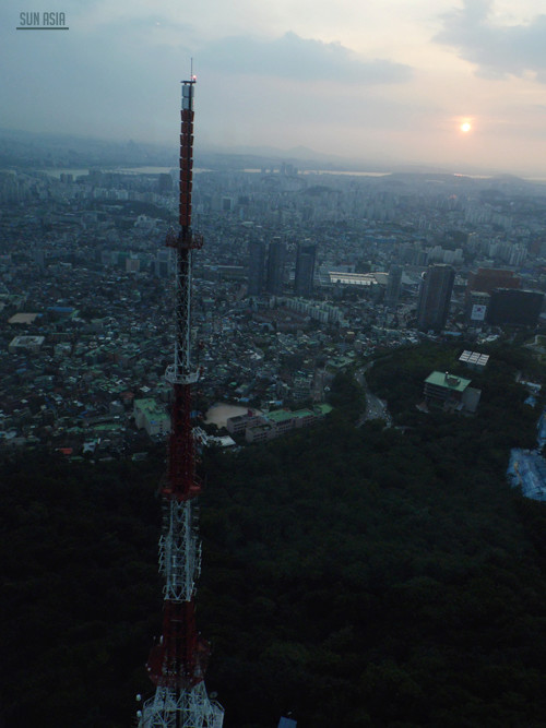 N Seoul Tower / Namsan Tower (Séoul) 1310
