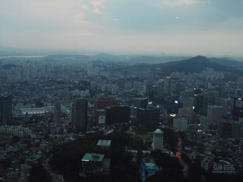 N Seoul Tower / Namsan Tower (Séoul) 1410