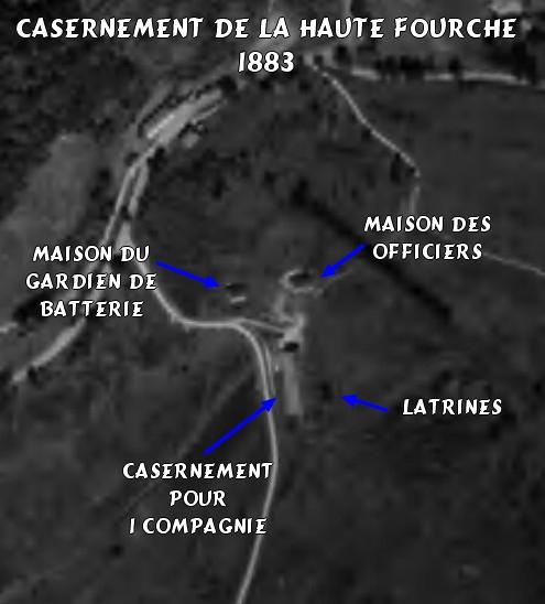 Fort de Lachaux, 1er janvier 1915  2016-021