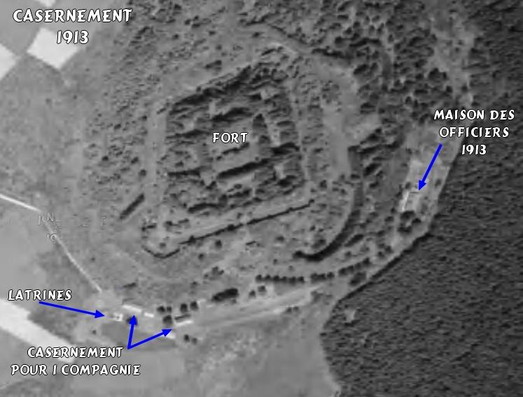 Fort de Lachaux, 1er janvier 1915  2016-022