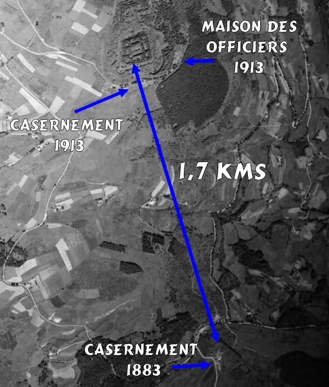 Fort de Lachaux, 1er janvier 1915  2016-023
