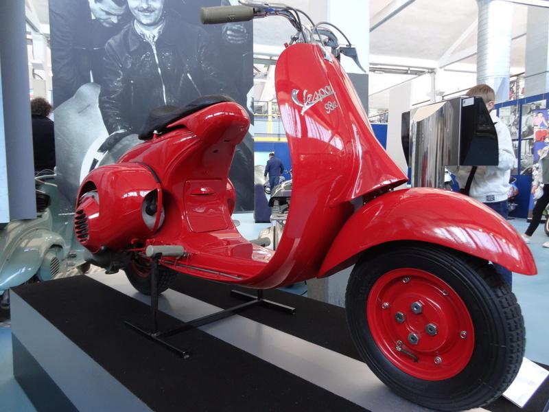 Musée Piaggio de Pontedera Dsc04619