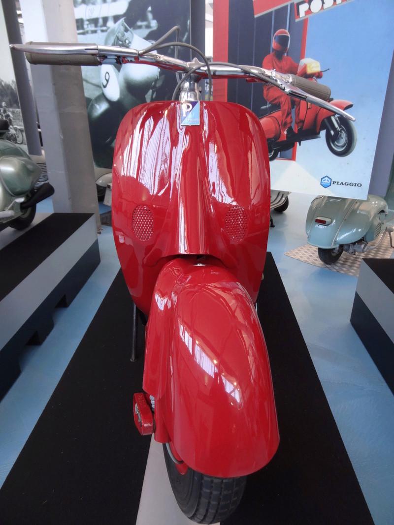 Musée Piaggio de Pontedera Dsc04623