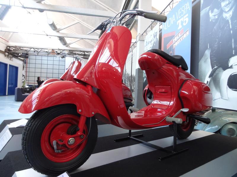 Musée Piaggio de Pontedera Dsc04624