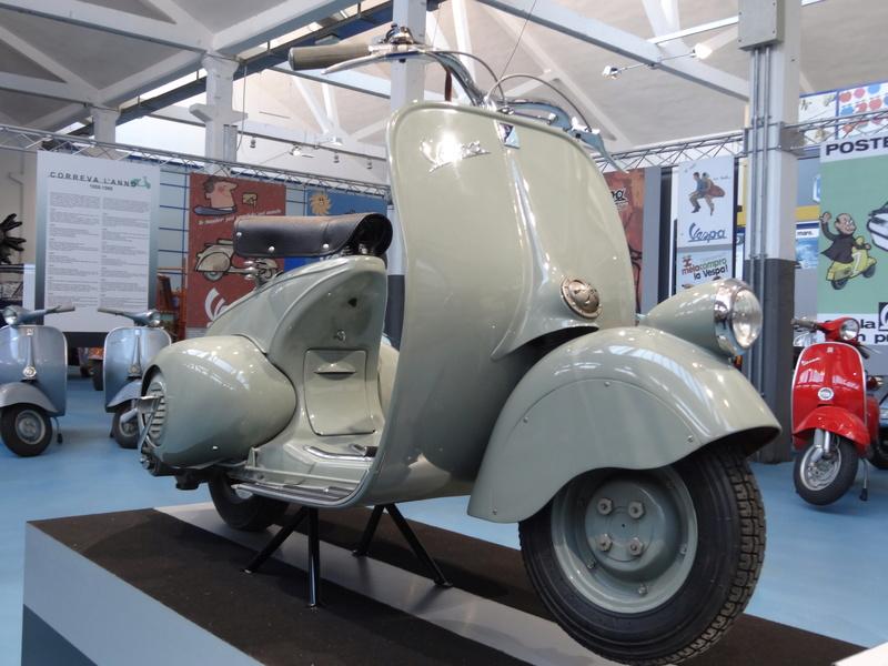 Musée Piaggio de Pontedera Dsc04672