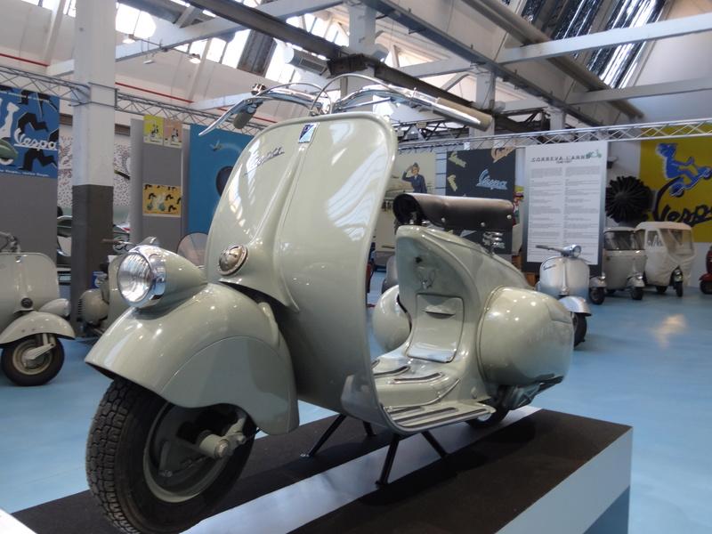 Musée Piaggio de Pontedera Dsc04674