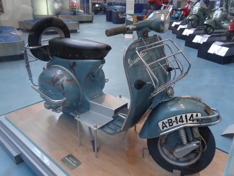 Musée Piaggio de Pontedera Dsc04680
