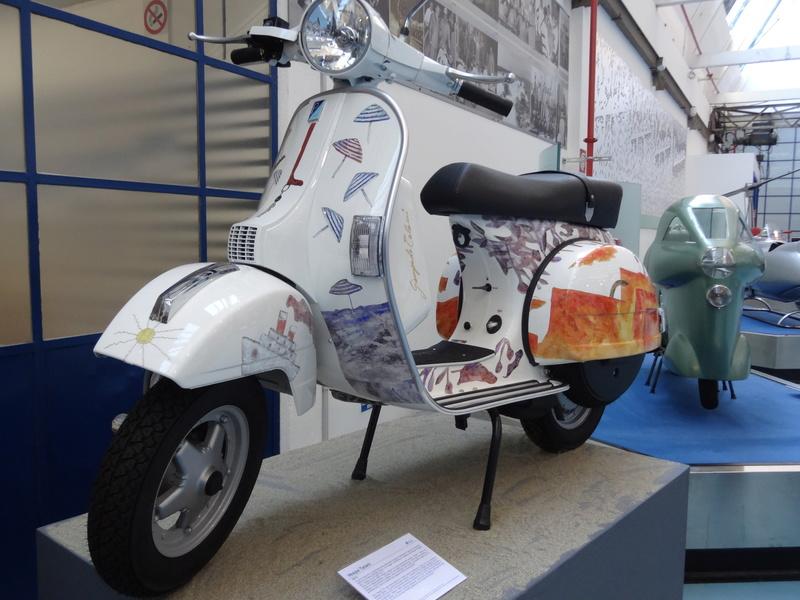 Musée Piaggio de Pontedera Dsc04681