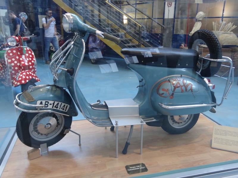 Musée Piaggio de Pontedera Dsc04683