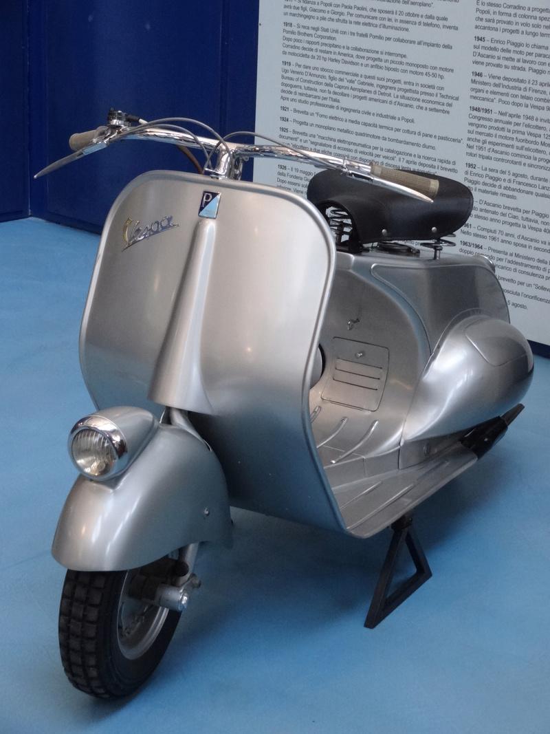 Musée Piaggio de Pontedera Dsc04722