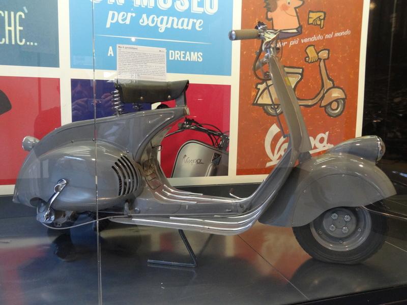 Musée Piaggio de Pontedera Dsc04732