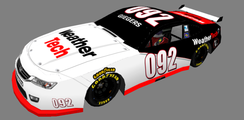 Roush Jobb Racing requests Gieger10