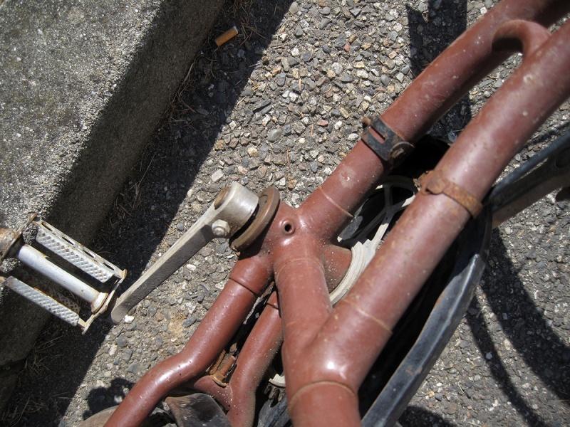 Vélo ancien à identifier 510