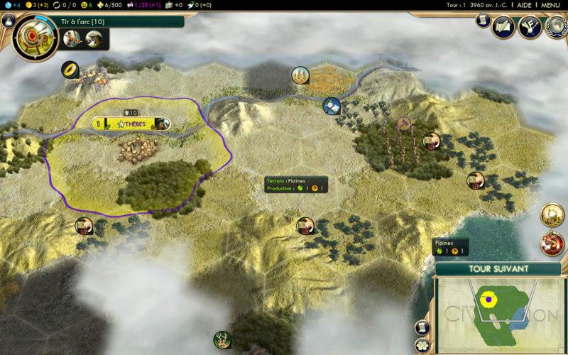 Récit de partie narratif: Civilisation égyptienne Quatri12