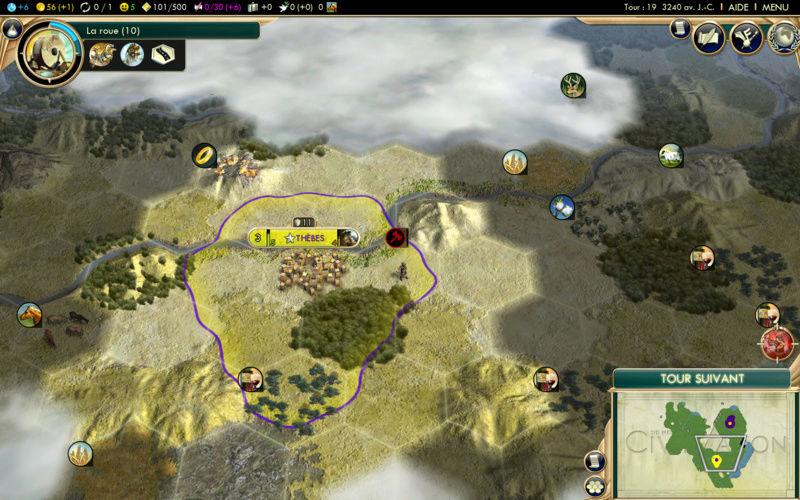 Récit de partie narratif: Civilisation égyptienne Quinzi10