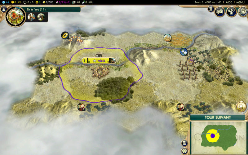Récit de partie narratif: Civilisation égyptienne Second12