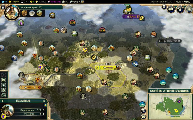 Récit de partie narratif: Civilisation égyptienne Vingtr10
