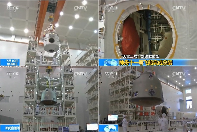 [Chine] Lancement CZ-2F | Shenzhou-11 à JSLC - le 17 Octobre 2016 145