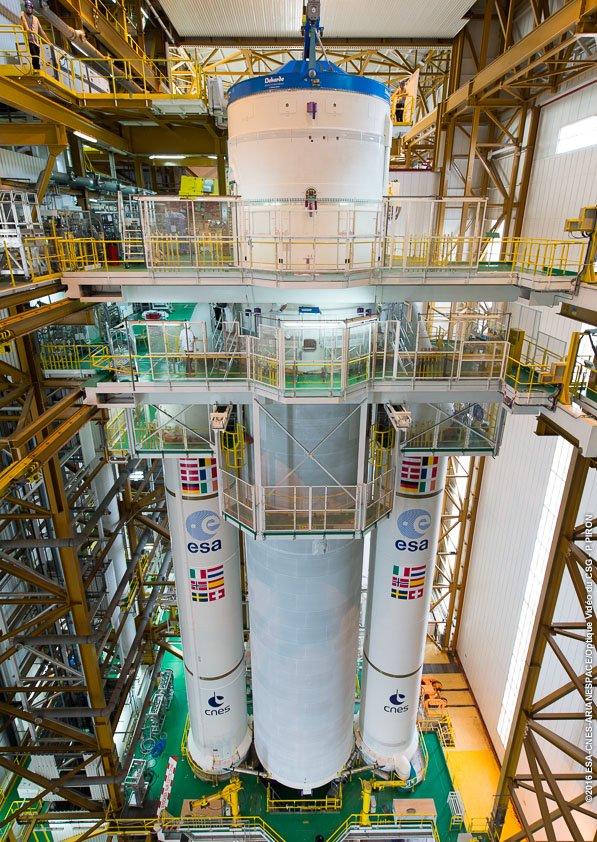 Lancement Ariane 5 ECA VA232 / Intelsat  33E & 36 - 24/08/2016   146