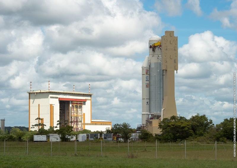 Lancement Ariane 5 ECA VA232 / Intelsat  33E & 36 - 24/08/2016   156