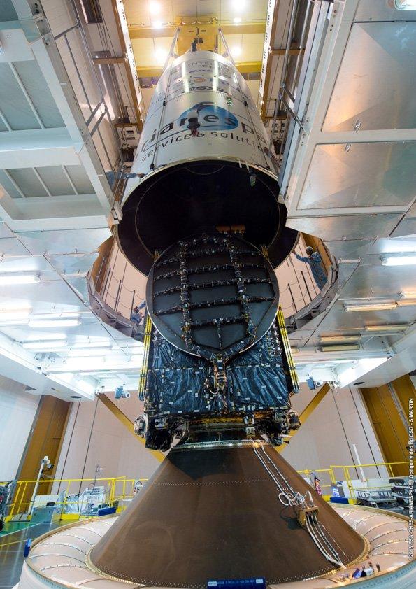 Lancement Ariane 5 ECA VA232 / Intelsat  33E & 36 - 24/08/2016   174