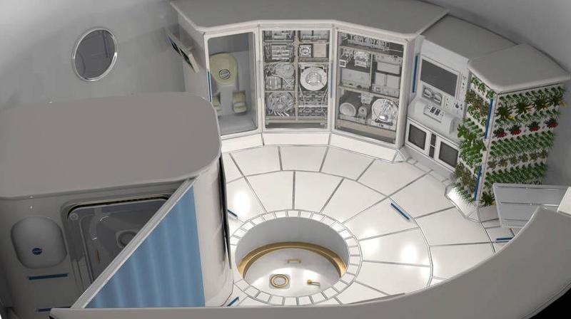 Le congrès demande à la NASA de développer un habitat pour l'espace profond Scree107