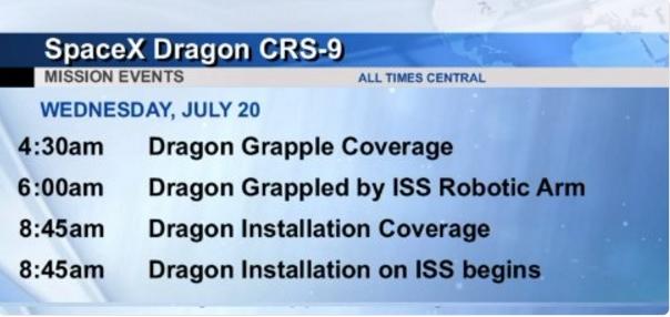 Lancement Falcon 9 / CRS-9 le 18 juillet 2016 CCAFS - Page 4 Screen96