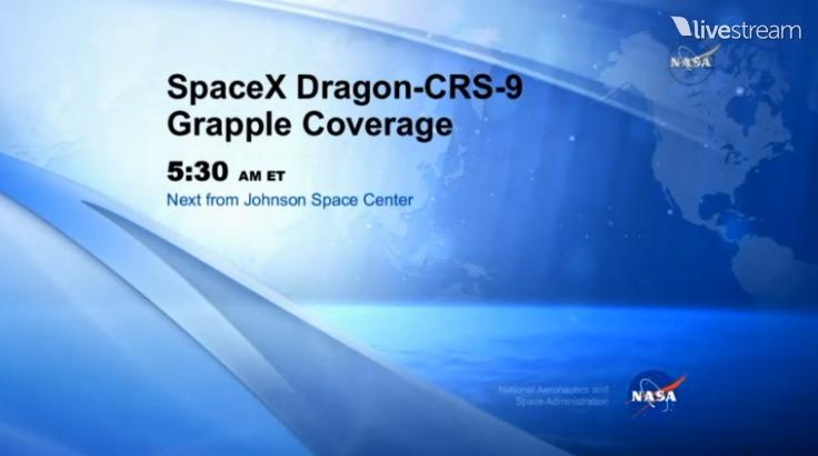 Lancement Falcon 9 / CRS-9 le 18 juillet 2016 CCAFS - Page 4 Screen97