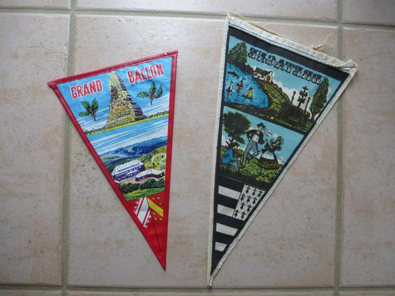 Fanions vintage ....vend ou échange  00211