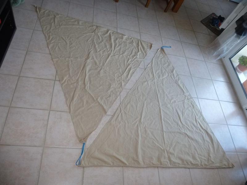 [échange ] toile triangulaire de baie contre solette 01710