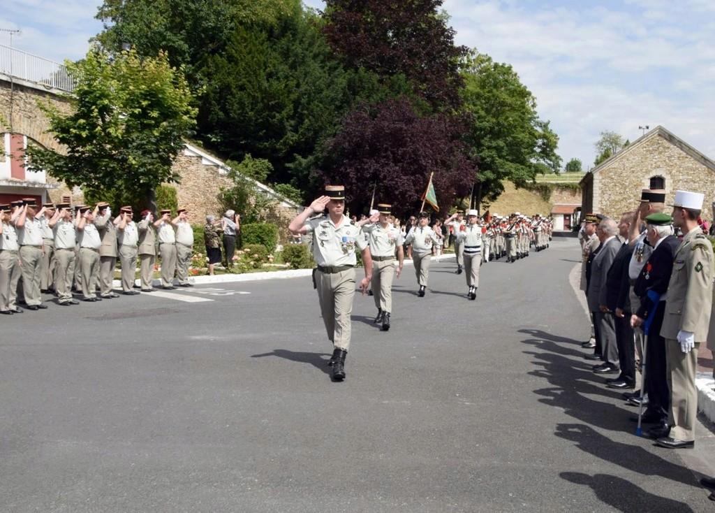 Prise de commandement du G.R.L.E Passco10