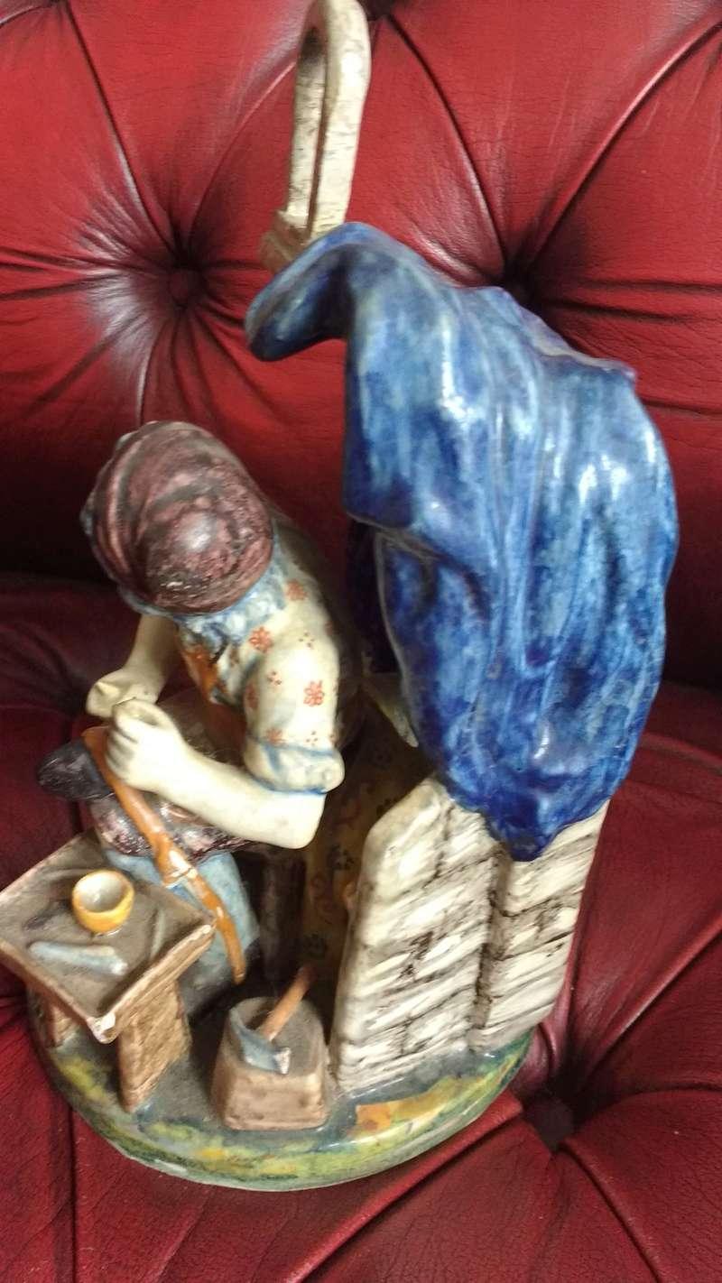 Belgian art pottery Pieter Adriaenus Koeks or Adrian Pynacker 18th century Img_2026