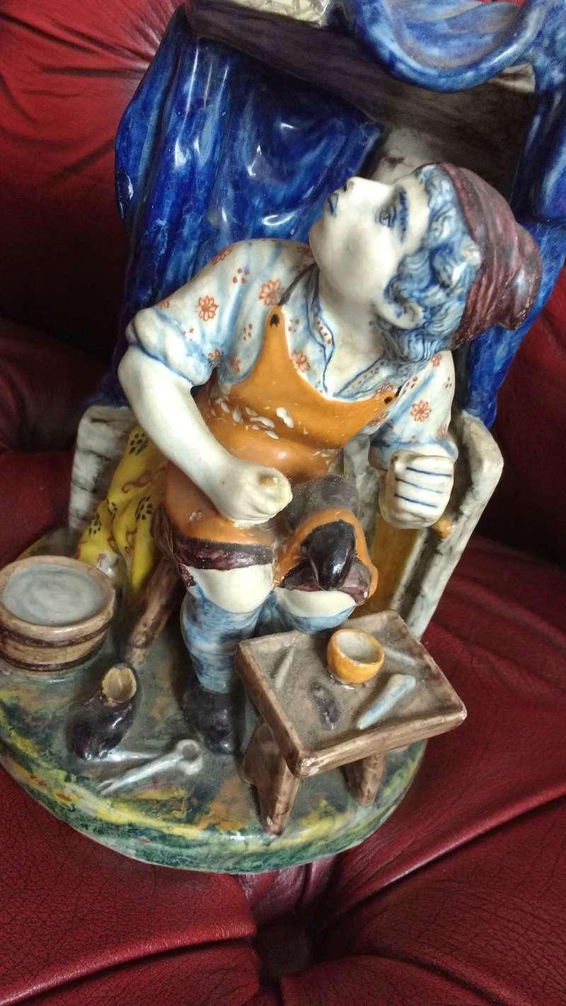 Belgian art pottery Pieter Adriaenus Koeks or Adrian Pynacker 18th century Img_2030