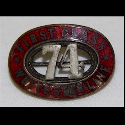 Badge de steward du Titanic Icon1710