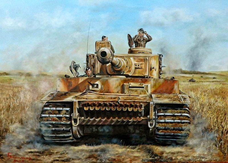 "CR 28mm KURSK ""Lost Tigers"" Before12"