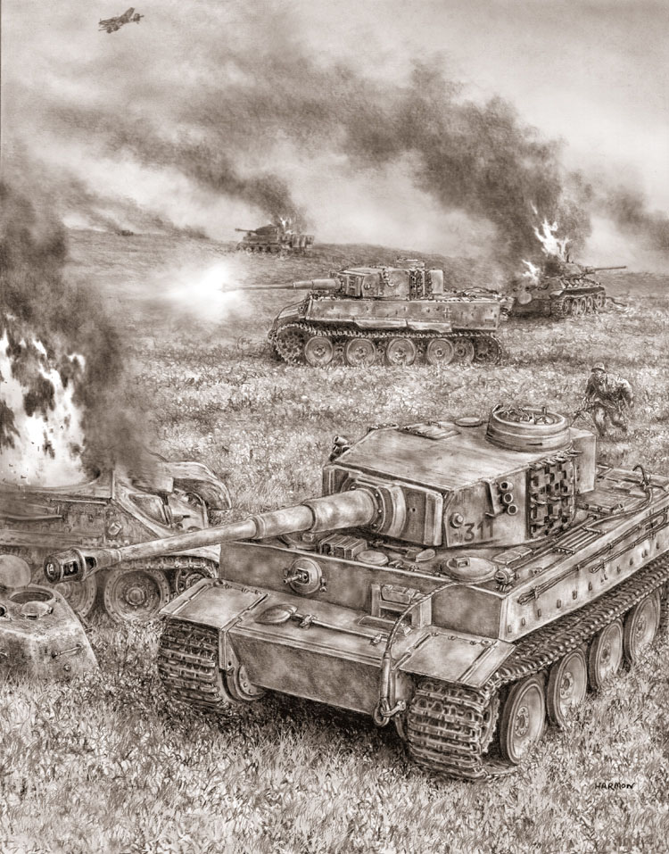 "CR 28mm KURSK ""Lost Tigers"" Kursk110"