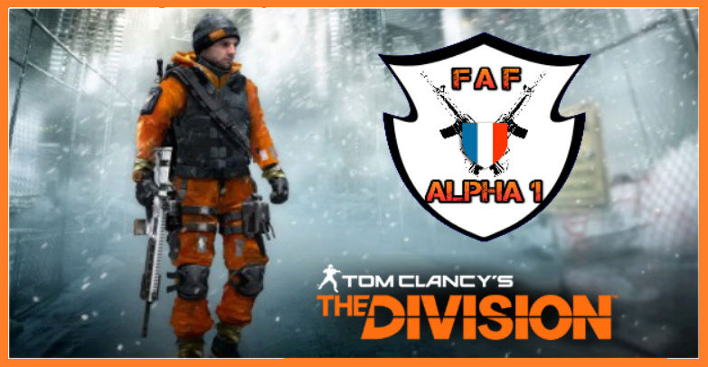 team FAF-ALPHA1 - THE DIVISION xbox