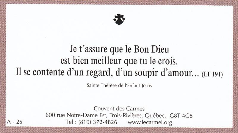 Petites paroles de Sainte-Thérèse de l'Enfant-Jésus et de la Sainte-Face - Page 2 A-2510
