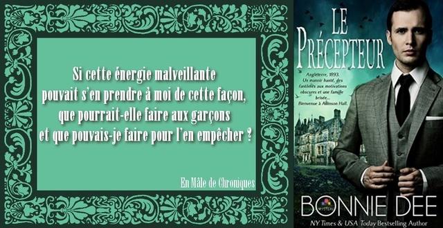 DEE Bonnie - Le Précepteur Le_pry10